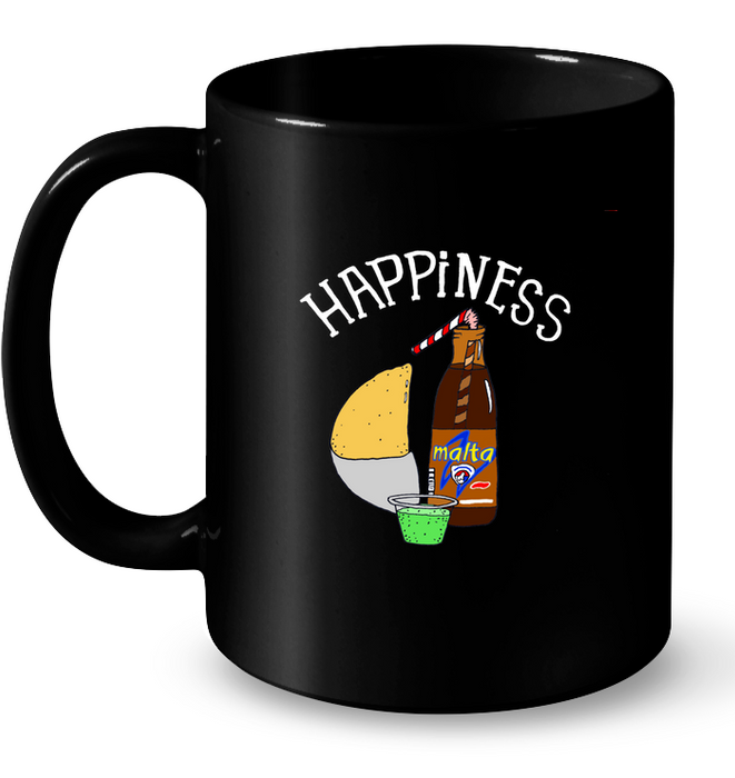 (Happiness Empanada) Taza - Good Vibes Venezuela