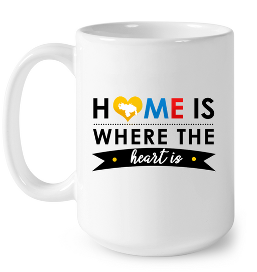 (Home is Where the Heart is) Taza - Good Vibes Venezuela