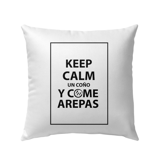 (Keep Calm y Come Arepas) Cojin - Good Vibes Venezuela