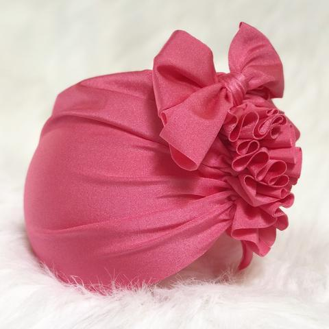 Swim Turban - Flamingo Pink