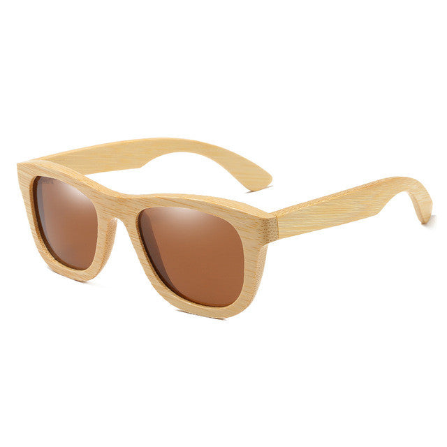 Authentic Handcrafted Polarized Bamboo Sunglasses (7 colors available)