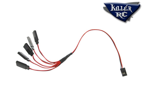 5-Way Power Splitter Cable - Killer RC
