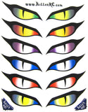 Evil Eyes Decal Sheet