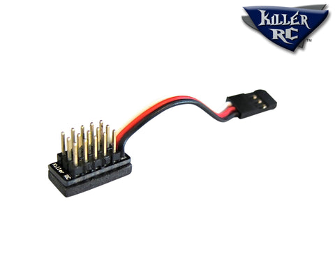 5-Way Micro Splitter Cable w/ Short Wiring - Killer RC