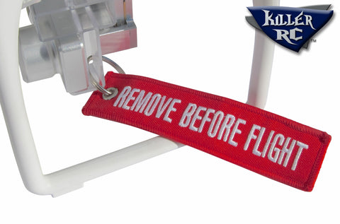 Remove Before Flight Key Tag - Killer RC