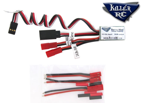Servo-Max Voltage Regulator - Killer RC