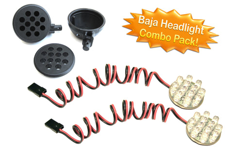 LED Headlight Combo Pack