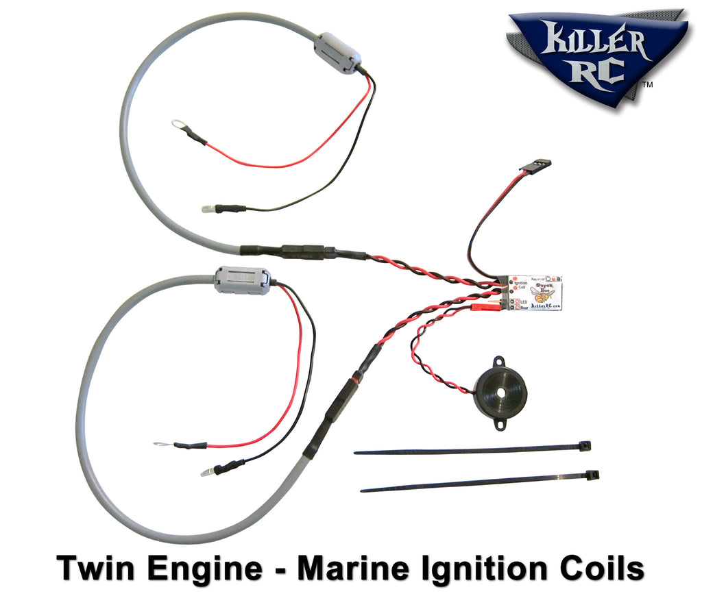 super bee kill switch twin engine car / boat kit – killer rc wiring diagram boat kill switch