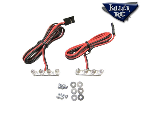 4-LED Tail Light (pair) - Killer RC