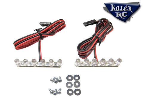 6-LED Tail Light (pair) - Killer RC