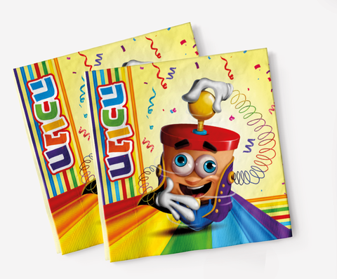 Chanukah Party Blast Napkins