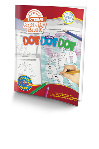 Connect the Dots Activity Book Chanukah