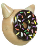 Kitty Donut Hand Pipe