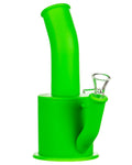 Green Silicone Oil Can Bong