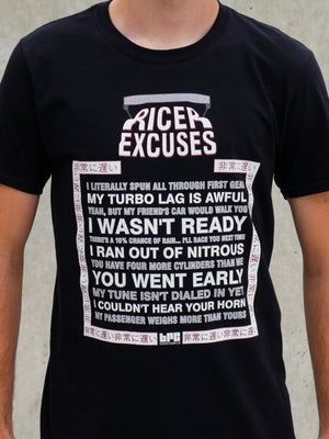 Ricer Excuses
