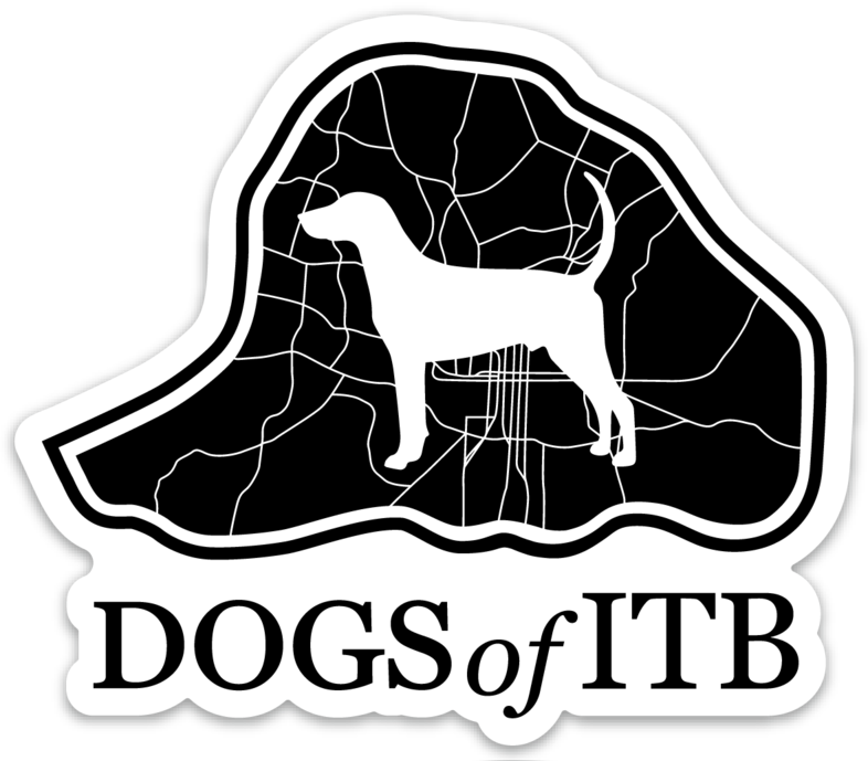 Dogs of ITB Die Cut Sticker