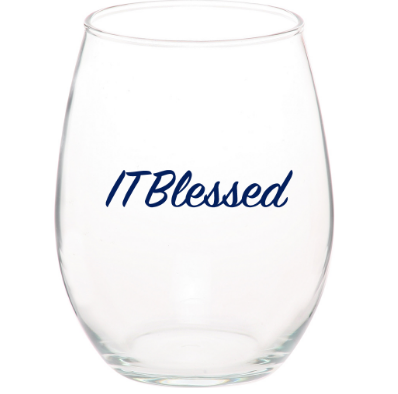 ITBlessed Wine Glass