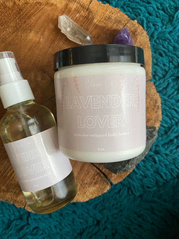 Lavender Lover Body Duo