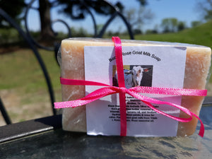 Boot's Rose Goat Milk Soap