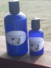 Pumpkins Peppermint Goat Milk Lotion 2 oz * Due to Covid bottle shortages color and style may vary