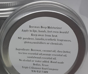 Triple L Pure & Natural Salve  Large 5 Oz