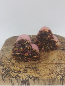 Mini Heart Rose Goat Milk Soap