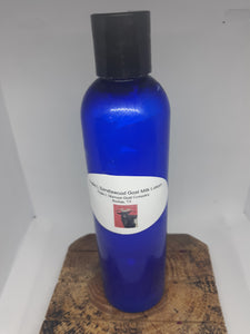 Triple L Sandalwood Small 2 oz Goat Milk Lotion.* Due to Covid bottle shortages color and style may vary
