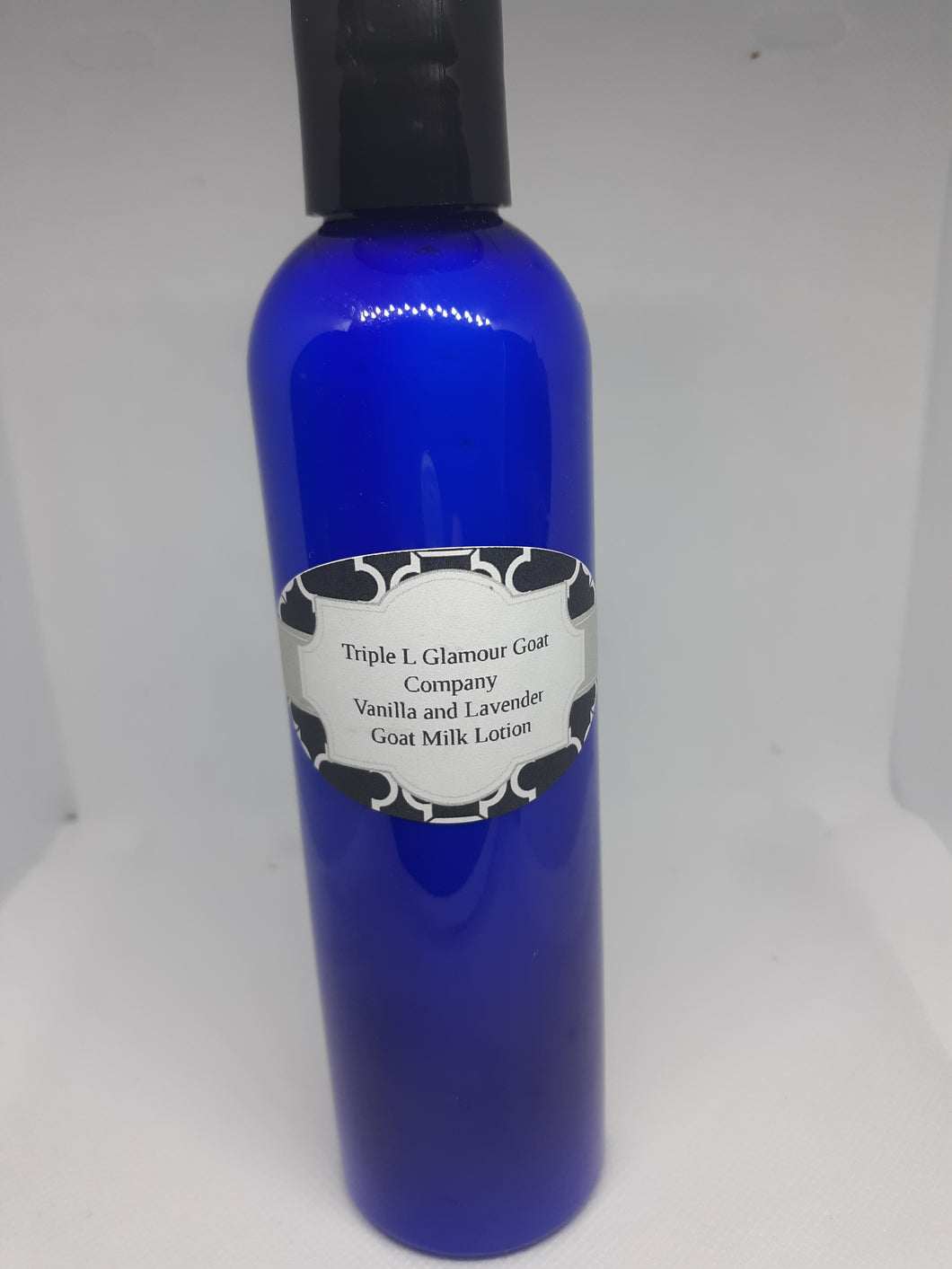 Triple L Vanilla and Lavender 8oz Goat Milk Lotion* Due to Covid bottle shortages color and style may vary