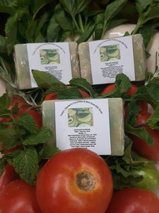 Triple L Garden's Cucumber & Mint Goat Milk Soap