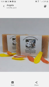 Triple L Ginger & Orange Goat Milk Soap
