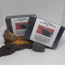 Triple L Activated Charcoal tea tree Goat Milk Soap