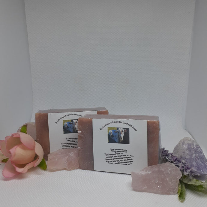 Boot's Rose and Lavender Goat Milk Soap