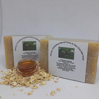 Honey and Oats Exfoliating Goat Milk Soap