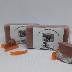 Pumpkin's Patchouli and Orange Goat Milk Soap