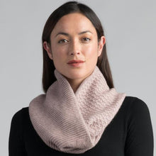 Textured Loop Scarf in Wistful by Merinomink