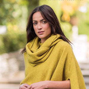 Textured Loop Scarf in Golden Pearl by Merinomink