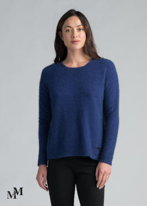 Possum Merino Relaxed Fit Sweater by Merinomink in Duke