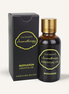 Surmanti Aromatherapy Motivation Essential Oil Blend