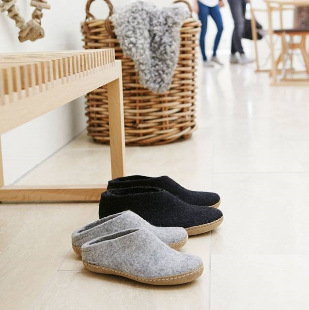 Glerups NZ Felted Wool Slip On with