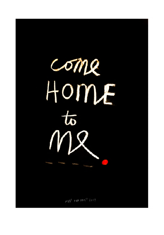 Come Home to Me by Fleur Wickes NZ Artist