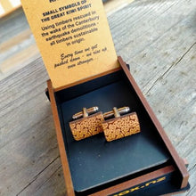 Heartwood Cuff Links