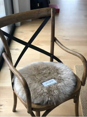 Sheepskin Rounds by Fibre