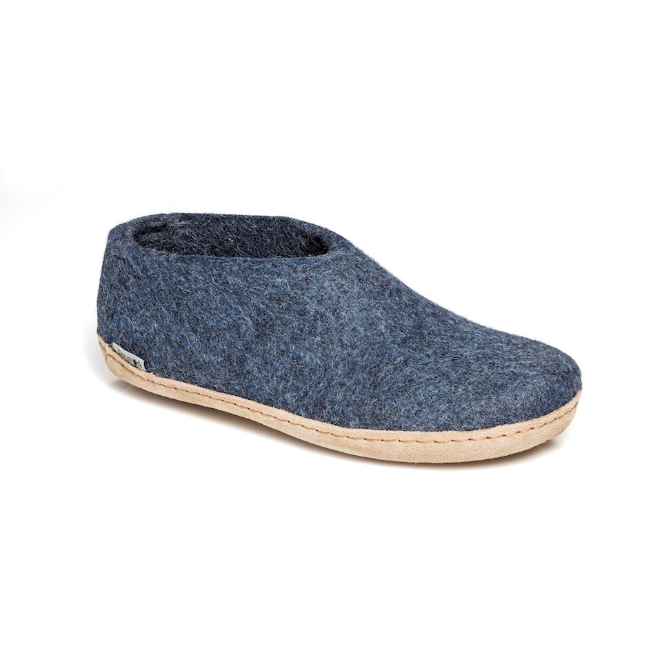 Glerups Indoor Shoe - Denim