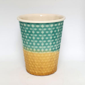 Small Ceramic Keep Cup 230ml Made in NZ