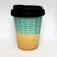 Small Ceramic Reuseable Coffee Keep Cup 230ml Made in NZ
