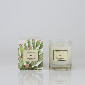 George and Edi Classic candle in Fig