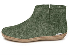 Glerups Leather Boot in Forest