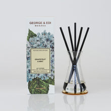 George and Edi Reed diffuser in Grapefruit and Mint