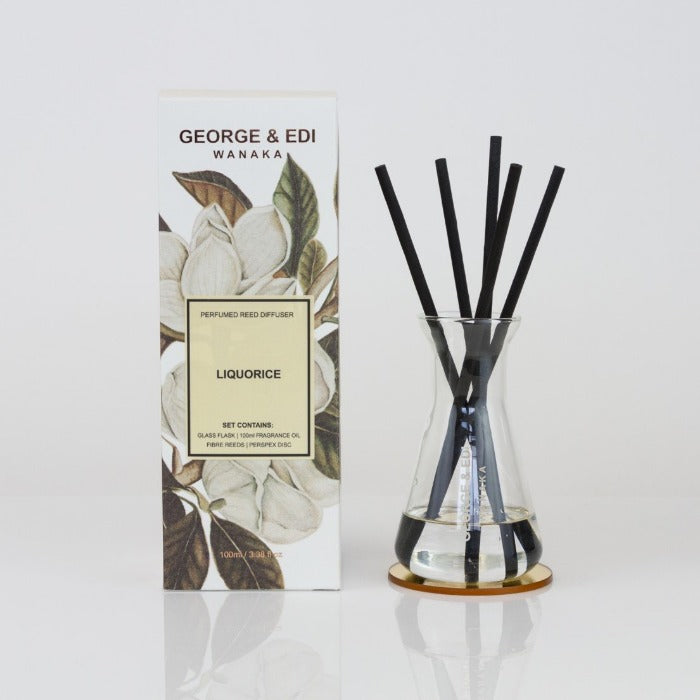 George and Edi Reed diffusers liquorice