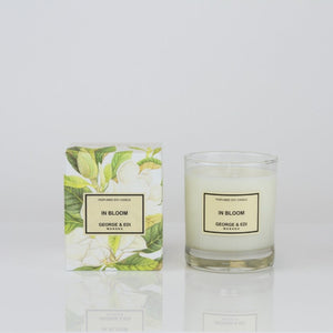 George and Edi In Bloom Candle